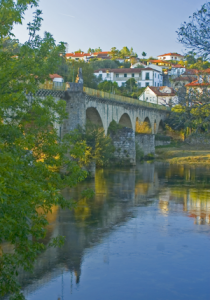 Roman bridge at Pont de Barque, Minho