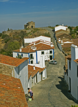 Marvao street scent, The Alentejo