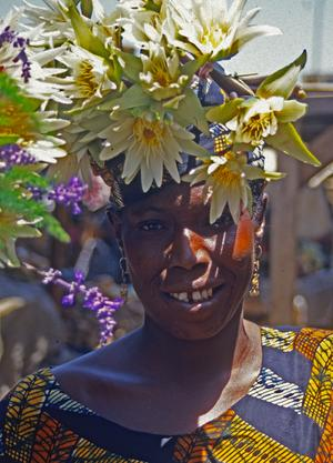 Flower Seller, Dakar Market