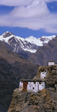 Cliff-side Monastery, Spiti Valley, India (2000)