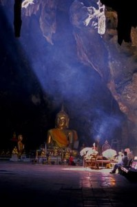 Cave temple at Petchaburi, Thailand, (1997) Photo (c) Karen Abrahamson