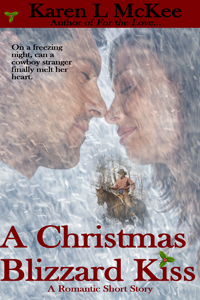 A CHRISTMAS BLIZZARD KISS